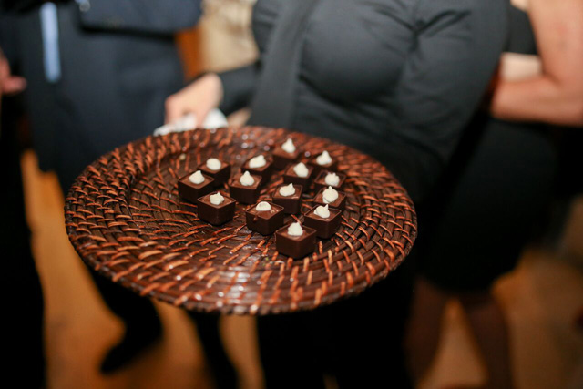 chocolate espresso pots de crème | A Gluten-Free Gala | Marcey Brownstein Catering & Events